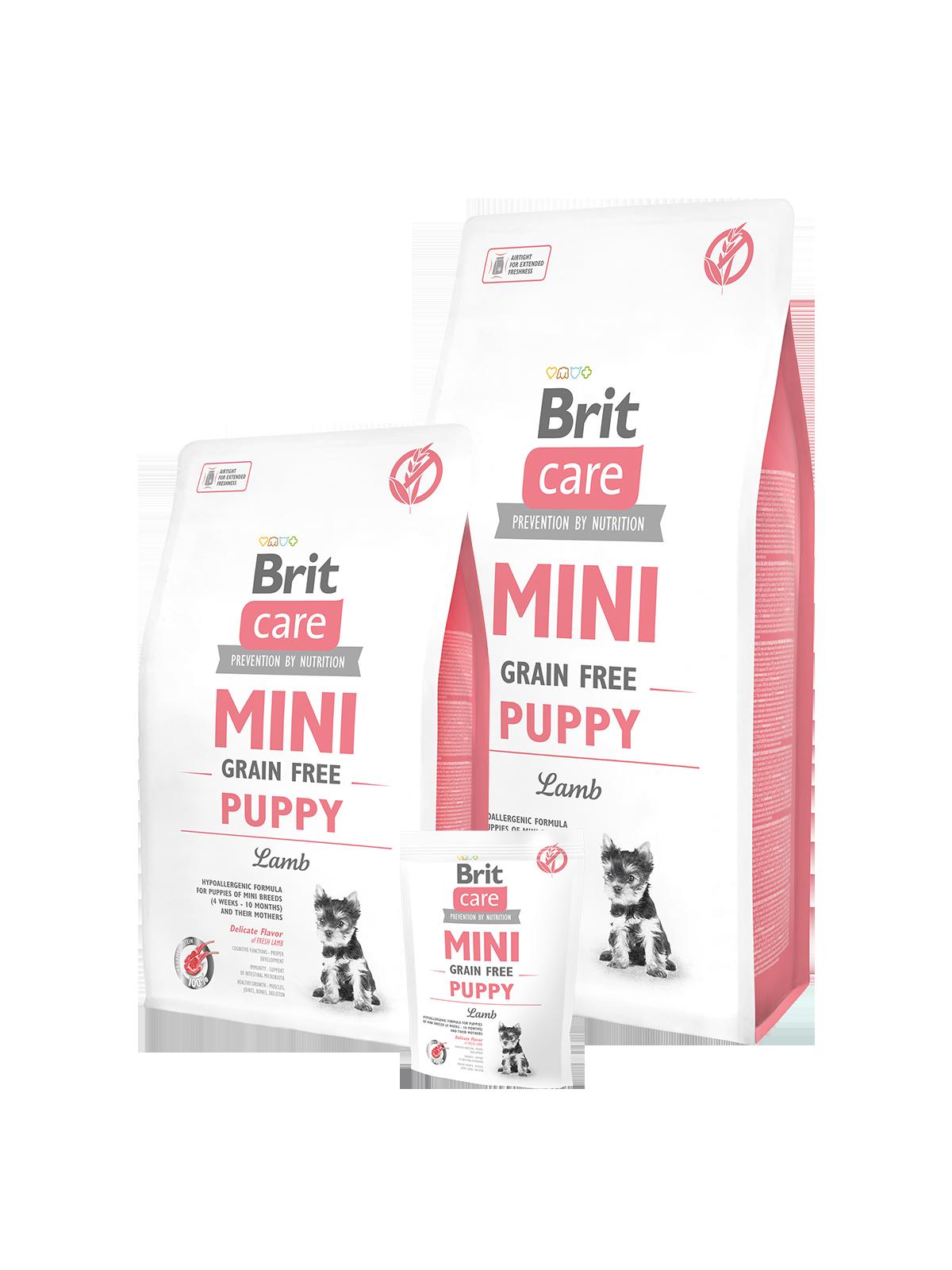 brit care mini grain free puppy – brit